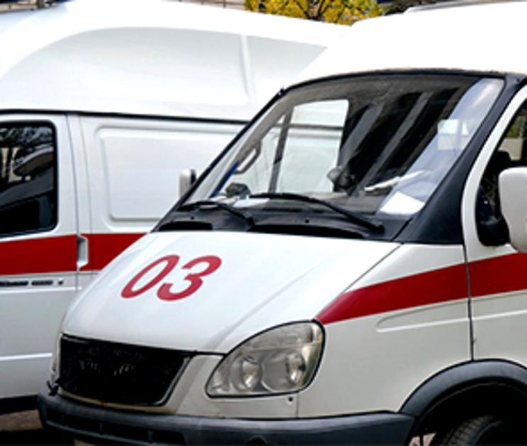 В Воронеже иномарка сбила женщину на скользкой дороге