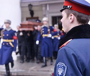 В Воронеже похоронили спецназовца, погибшего в Назрани в перестрелке с боевиками