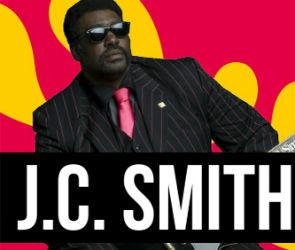 В Воронеже выступит легенда мирового блюза JC Smith