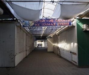 В Воронеже начали сносить мини-рынок «Остужевский»