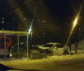 Опубликовано видео последствий массовой аварии на остановке «Работница»