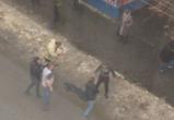Воронежцы сняли на видео очередную драку у кафе Barak O'mama