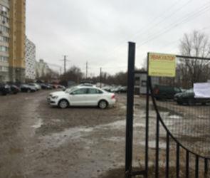 На левом берегу Воронежа ликвидировали незаконную парковку