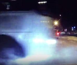 Очередная беспредельная езда маршруточника в Воронеже попала на видео