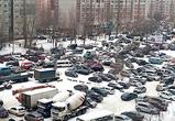 Северный район Воронежа встал в огромной пробке из-за розыгрыша авто и ДТП