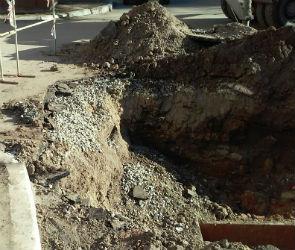 «Воронежтеплосеть» могут наказать за затянувшийся ремонт теплотрассы