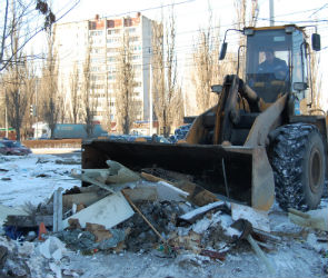 Остужевский мини-рынок полностью демонтирован