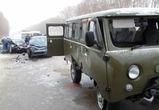Четыре человека пострадали в массовом ДТП в Воронежской области