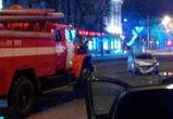 Появились фото и видео с места ночного ДТП с пострадавшими в центре Воронежа
