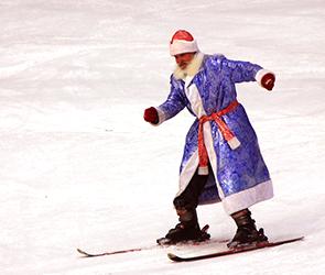 В новогодние праздники воронежцев приглашают покататься по 9 лыжным трассам