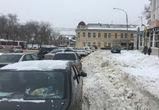 Воронежцы в соцсетях возмущаются работой коммунальщиков по уборке снега