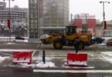 За минувшие сутки с улиц Воронежа коммунальщики вывезли 9 тысяч кубометров снега