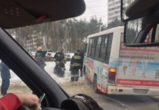 В Воронеже водитель маршрутного ПАЗа сбил двух пешеходов