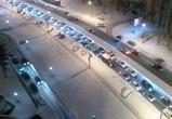 Из-за массовой аварии в Северном микрорайоне образовалась огромная пробка