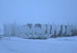 Спасатели взорвали лед у понтонного моста в Шилово