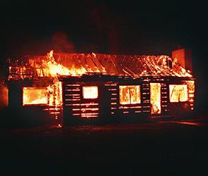 В селе под Воронежем полтора часа тушили пожар в частном доме, погиб человек