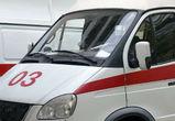 Под Воронежем у фуры вспыхнул бензобак: пострадал водитель