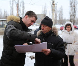 В мэрии Воронежа рассказали, что появится на месте мини-рынка «Остужевский»