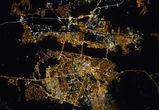 Воронежу снова  устроили «фотосессию» из космоса