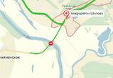 Сервис Яндекс Пробки «перекрыл» движение по мосту в Шилово