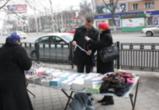 В Ленинском районе сократилось количество мест, где образуются «стихийные» рынки