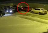 В Воронеже на видео попал водитель иномарки, скрывшийся с места ДТП