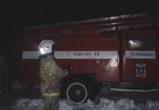 В Воронеже ранним утром сгорел трактор