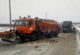 Семь человек пострадали в ДТП с автобусом и машиной дорожников под Воронежем