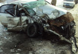Появились фото с места страшной аварии с двумя погибшими и одним пострадавшим