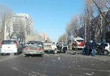 В сети появились фото массовой аварии с пострадавшими на левом берегу Воронежа