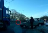 На видео попал момент массового ДТП под Воронежем, в котором пострадали телята