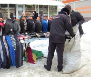 В Воронеже торговцы не хотят покидать территорию бывшего Остужевского рынка