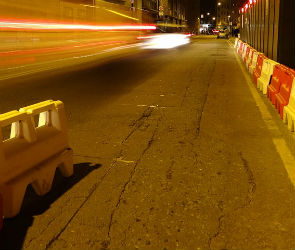 В Воронеже 19-летний водитель иномарки насмерть сбил дорожного рабочего