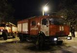 На пожаре в Советском районе Воронежа пострадал мужчина
