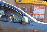 В Воронеже на видео сняли автомобилиста, брившегося за рулем машины