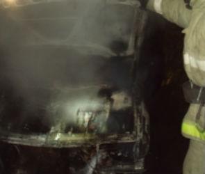 На левом берегу Воронежа сгорел автомобиль