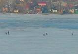 Спасатели предупреждают воронежцев о тающем льде на водохранилище