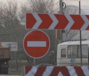Развязку на Курской трассе перекрыли, чтобы избежать обрушения