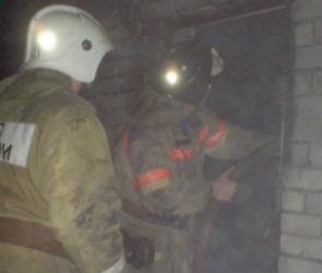 В Воронеже на пожаре сгорели мопед и автомобиль