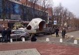 В центре Воронежа установили 7-метровую царь-рыбу
