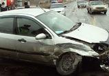 В Бабяково из-за столкновения двух автомобилей образовалась пробка