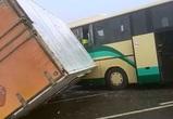 Последствия массового ДТП с участием автобуса «Белгород-Воронеж» попали на видео