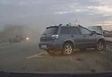 Воронежцы сняли на видео страшную аварию на Тамбовской трассе