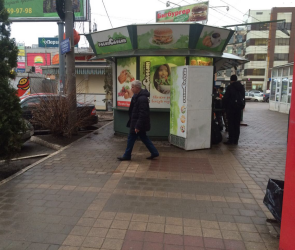 Игровые автоматы, находившееся у Дома быта в Воронеже, исчезли