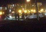 Последствия ДТП с рухнувшим столбом на Московском проспекте попали на видео