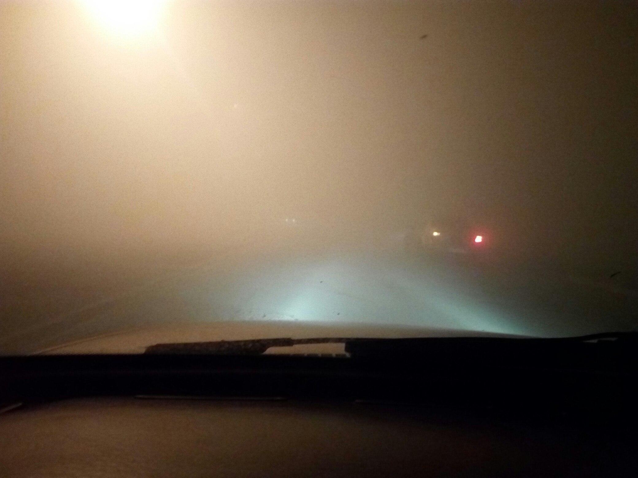 Густой смог над левым берегом напугал жителей Воронежа