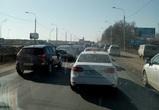 Из-за огромных пробок на въезде в Воронеж дорожники изменили график ремонта