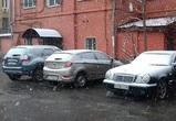 Воронежцы выкладывают в Сеть фотографии и видео весеннего снегопада