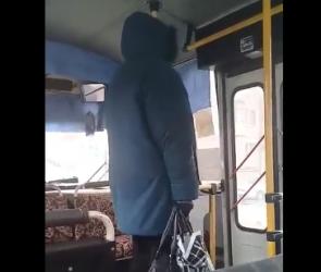Воронежцы сняли на видео скандальную женщину, просившую маршрутчика нарушить ПДД