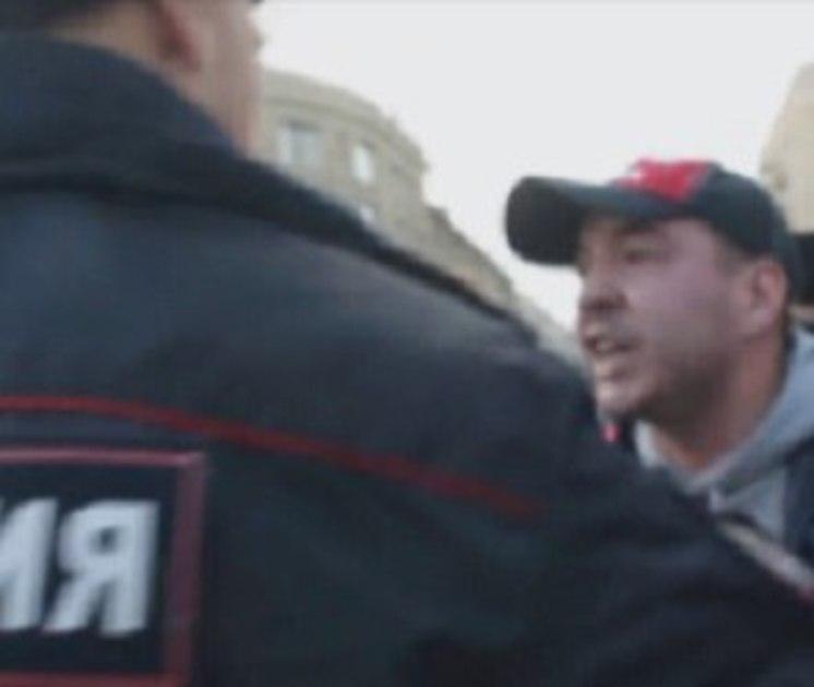 «Задержанный» на митинге в Воронеже активист «Молодой Гвардии» попал в больницу